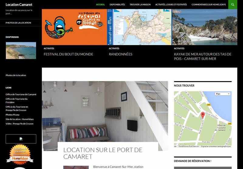 Site internet de location de vacances http://location-bretagne-camaret.com/
